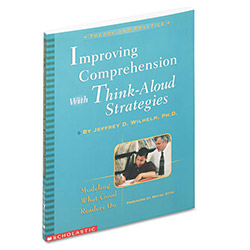 Scholastic Improving Comprehension With Think Aloud Strategies, Grades 3-8