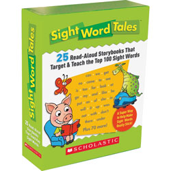 Scholastic Sight Word Tales, 25 Books/16 Pages And Teachers Guide, Grades K-2
