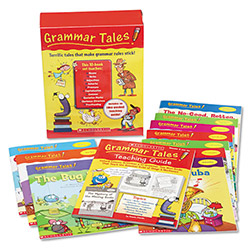 Scholastic Grammar Tales Teacher`s Guide Grade 3+, 120 pages