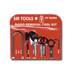 Sir Tools Deluxe Radio Removal Tool Kit