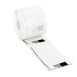 "Seiko Clear Roll of Labels, 2.13"" x 3.98"""