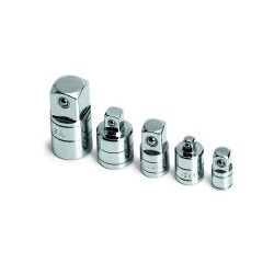 S K Hand Tools 5 Piece Socket Adapter Set On a Rail