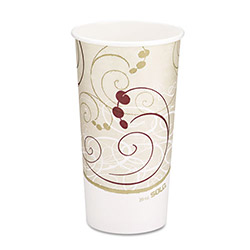 Solo 20 Oz Hot Paper Cups, Symphony Design, Case of 600