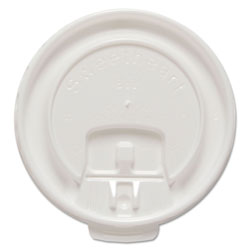 Solo Liftback & Lock Tab Cup Lids for Foam Cups, Fits 8 oz Trophy Cups, WE, 100/PK