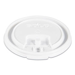 Solo Hot Cup Lids, White, 1000/Carton