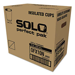 Solo Symphony Design Trophy Foam Hot/Cold Drink Cups, 10oz, 300/Carton