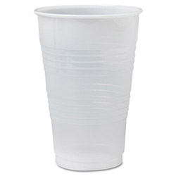 Solo 20 Oz Cold Plastic Cups, Clear, Pack of 800