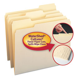 Smead Manila File Folder, Letter Size, 100/Box