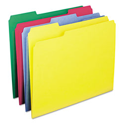 Smead File Folder, Letter Size, Assorted Colors, 100/Box