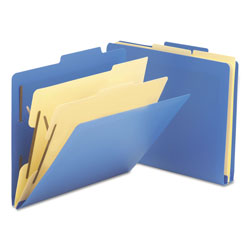 "Smead Heavy Duty Poly Classification Folders, Letter Size, 2 1/2"" Expansion, 10/Box"