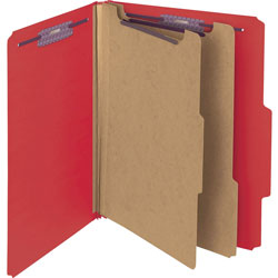"Smead Classification Folder, Psbd, Letter, 2/5"" Roc, 2 Div, BRRD"
