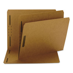 "Smead Kraft Folders with Two 2"" Capacity Fasteners, Letter, Straight Cut, 50/Box"