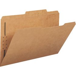 Smead folder with fasteners, legal, kraft