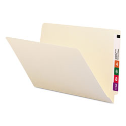 Smead End Tab File Folders, Manila, Straight Cut, Single Ply Tab, Legal, 100/Box