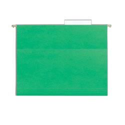 Smead Hanging Folder w/Easy Slide Tab, Letter, Green, 18/Pack