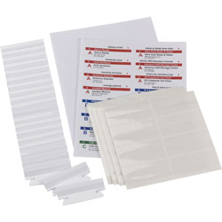 Smead Viewables® & Arrange™ Hanging File Tabs, Assorted Colors
