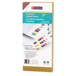 Smead Labeling System Starter Kit w/CD Software & 50 Label Forms, Laser