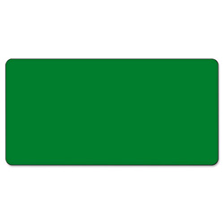 Smead CC Color-Coded Labels, Self-Adhesive, 1w x 2h, Green, 250 Labels/Roll