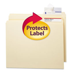 Smead Seal and View® File Folder Label Protectors, Clear Laminate, 100/Pack