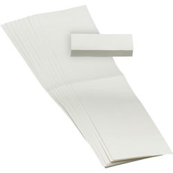 Smead 1/5 Cut Hanging File Tabs, White