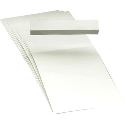 Smead 1/3 Cut Hanging File Tabs, White