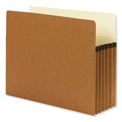 "Smead Redrope File Pockets, Paper Gusset, Letter, Straight Cut, 5 1/4"" Exp., 10/BX"