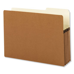 "Smead Redrope File Pockets, Paper Gusset, Legal, 2/5 Cut, 3 1/2"" Exp., 25/BX"