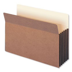 "Smead Redrope File Pockets, Tyvek Gusset, Legal, Straight Cut, 5 1/4"" Exp., 10/BX"