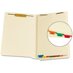 Smead® Legal Index Tabs, Assorted Colors