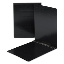 Smead End Opening Pressboard Report Cover, Black, Each