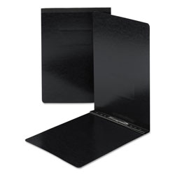 Smead Side Opening Pressboard Report Cover, Black, Each