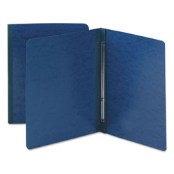 Smead Side Opening Pressboard Report Cover, Blue, Each