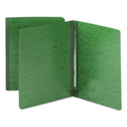 Smead Side Opening Pressboard Report Cover, Green, Each