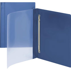 Smead Report Cover with Prong Fasteners, Blue, Pack of 10