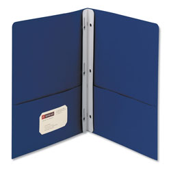 Smead Two Pocket Portfolio, Blue, Box of 25