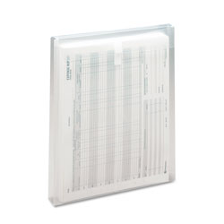 Smead Poly Top Load Envelopes, Clear