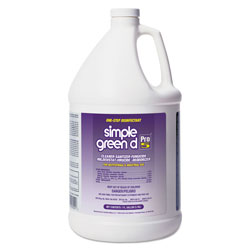 Simple Green Pro 5 One-Step Disinfecting Cleaner, Case of 4