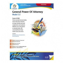 Socrates Media General Power/Attorney Form, Individual Will Handle Finances
