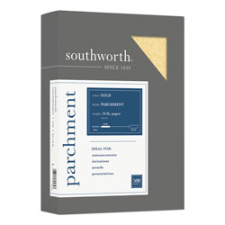 Southworth Parchment Paper, 8-1/2x11, Gold, 24 lb., 500/Box