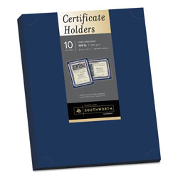 Southworth Linen Certificate Holders, Navy