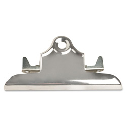 "Sparco Clip For Clipboard, Metal, 6"", Nickel Plated"