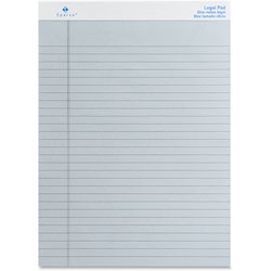 "Sparco Colored Pad, Legal Rule, 50 Sheets, 8 1/2"" x 11 3/4"" Blue"