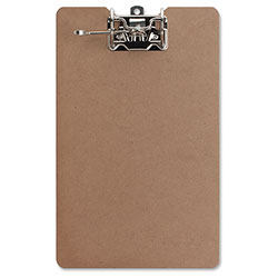 "Sparco Clipboard with Silver Arch With Lever, 2-1/2"" Capacity, 9""x13"""