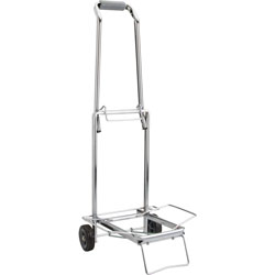 "Sparco Compact Luggage Cart, Open Dim: 14 3/4""x13 3/4""x35"""