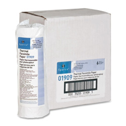 "Sparco Facsimile Paper, 1"" Core, ""H"" Sensitivity, 8 1/2""x164', WE"