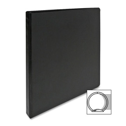"Sparco 3 Ring Binder, 1/2"" Capacity, Black"