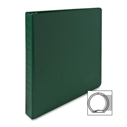 "Sparco 3 Ring Binder, 1"" Capacity, Green"