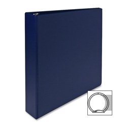 "Sparco 3 Ring Binder, 1 1/2"" Capacity, Blue"