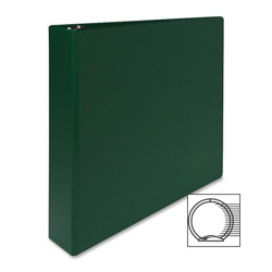 "Sparco 3 Ring Binder, 1 1/2"" Capacity, Green"