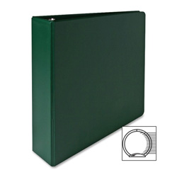 "Sparco 3 Ring Binder, 2"" Capacity, Green"